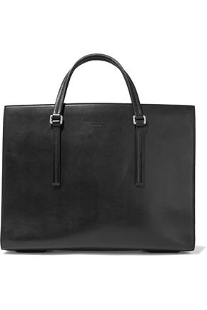 RICK OWENS Edith burnished-leather tote