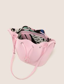 ARMANI EXCHANGE MONSTERA-LINED BUCKET BAG Satchel bag Woman d