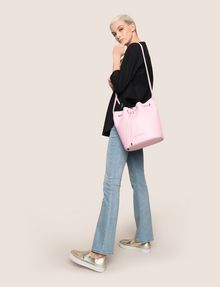 ARMANI EXCHANGE MONSTERA-LINED BUCKET BAG Satchel bag Woman e