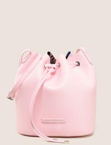 ARMANI EXCHANGE MONSTERA-LINED BUCKET BAG Satchel bag Woman f