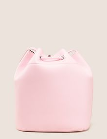 ARMANI EXCHANGE MONSTERA-LINED BUCKET BAG Satchel bag Woman r