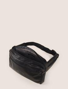 ARMANI EXCHANGE FAUX-LEATHER LOGO BELT BAG Crossbody bag Man d