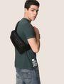 ARMANI EXCHANGE FAUX-LEATHER LOGO BELT BAG Crossbody bag Man e