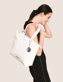 ARMANI EXCHANGE PATENT ZIP-TOP TOTE Tote bag Woman e