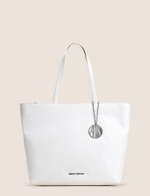 ARMANI EXCHANGE PATENT ZIP-TOP TOTE Tote bag Woman f
