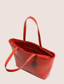 ARMANI EXCHANGE PATENT ZIP-TOP TOTE Tote bag Woman d