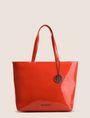 ARMANI EXCHANGE PATENT ZIP-TOP TOTE Tote bag Woman f