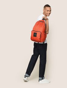 ARMANI EXCHANGE NYLON TESSELLATED LOGO BACKPACK Backpack Man e
