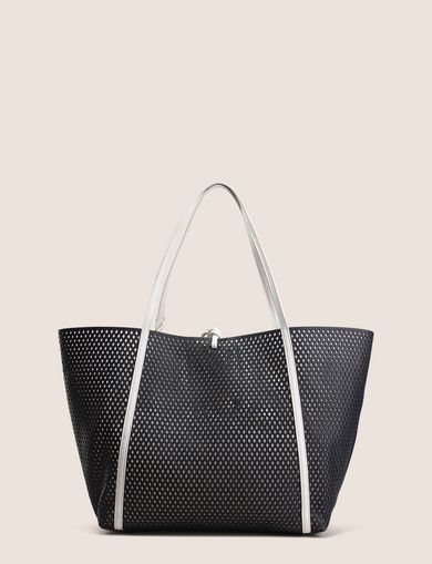 MESH PERFORATED TOTE