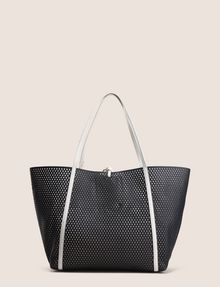 ARMANI EXCHANGE MESH PERFORATED TOTE Tote bag Woman r