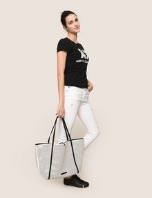 ARMANI EXCHANGE MESH PERFORATED TOTE Tote bag Woman e