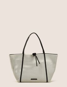 ARMANI EXCHANGE MESH PERFORATED TOTE Tote bag Woman f