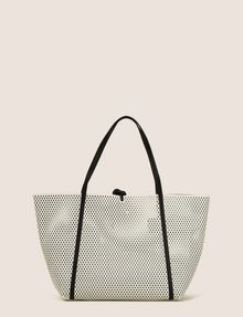 ARMANI EXCHANGE MESH PERFORATED TOTE Tote bag [*** pickupInStoreShipping_info ***] r