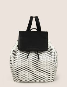 ARMANI EXCHANGE MESH PERFORATED BACKPACK Backpack Woman f