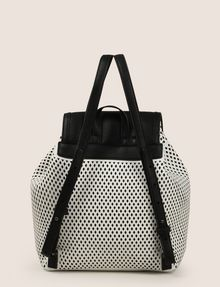 ARMANI EXCHANGE MESH PERFORATED BACKPACK Backpack Woman r