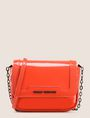 ARMANI EXCHANGE PATENT-EFFECT FAUX-LEATHER CROSSBODY Crossbody bag Woman f
