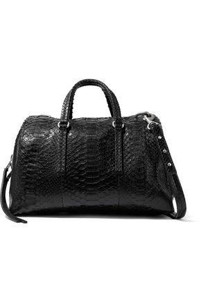 RICK OWENS Bauletto textured-leather shoulder bag