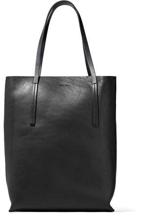RICK OWENS Medium Shopper burnished-leather tote