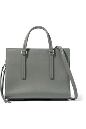 RICK OWENS Tasseled textured-leather tote