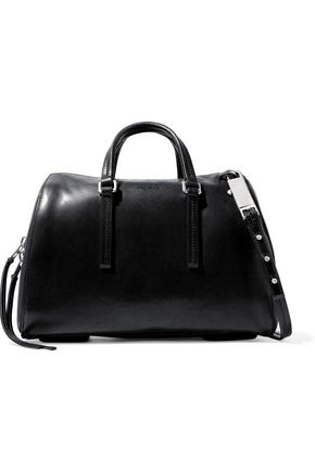 RICK OWENS Bauletto burnished-leather shoulder bag