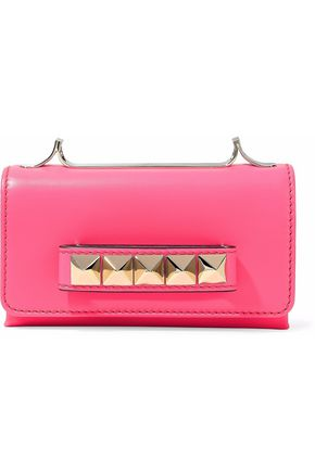 VALENTINO Va Va Voom neon leather shoulder bag