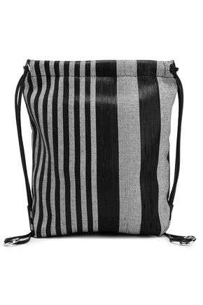 PROENZA SCHOULER Striped woven backpack
