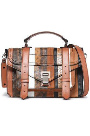 PROENZA SCHOULER Paneled leather shoulder bag