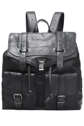 PROENZA SCHOULER PS1 canvas and brushed-leather backpack