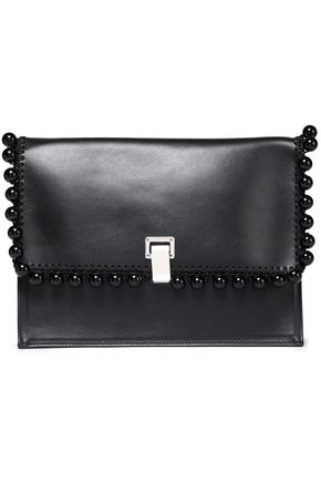 PROENZA SCHOULER Embellished leather clutch