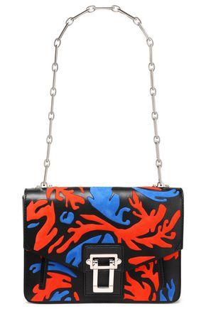 PROENZA SCHOULER Hava suede-paneled leather shoulder bag