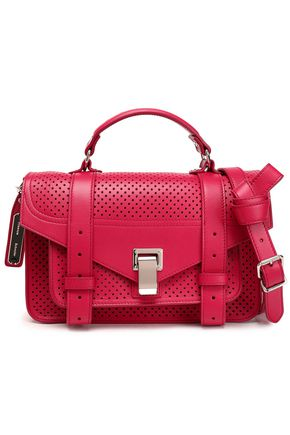 PROENZA SCHOULER PS1 perforated leather shoulder bag