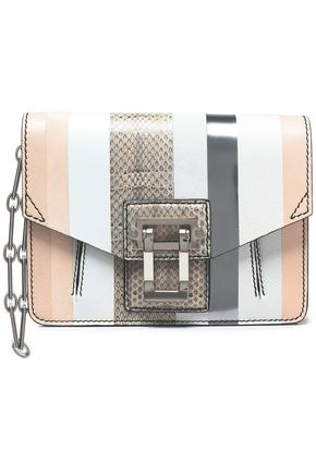 PROENZA SCHOULER Hava paneled karung, ayers, and leather shoulder bag