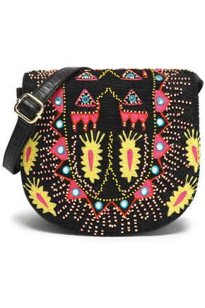 ANTIK BATIK Embellished leather shoulder bag