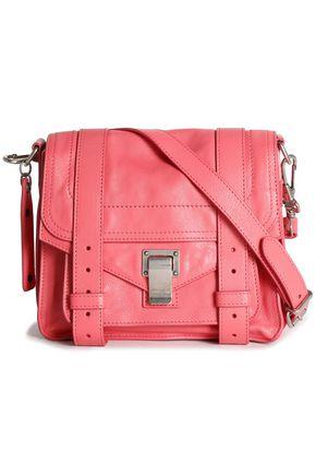 PROENZA SCHOULER PS1 brushed-leather shoulder bag ...