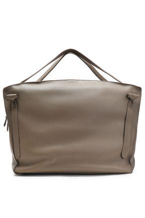JIL SANDER Leather weekend bag