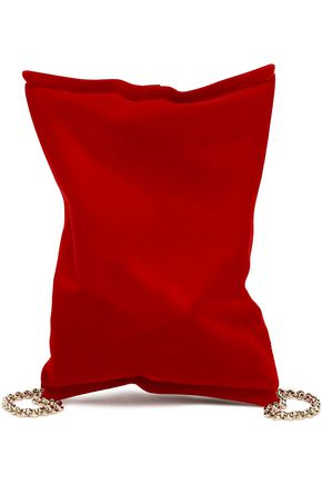 ANYA HINDMARCH Felt shoulder bag