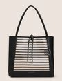 ARMANI EXCHANGE METALLIC WEAVE TOTE BAG Tote bag Woman f