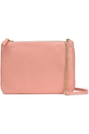 SANDRO Leather shoulder bag