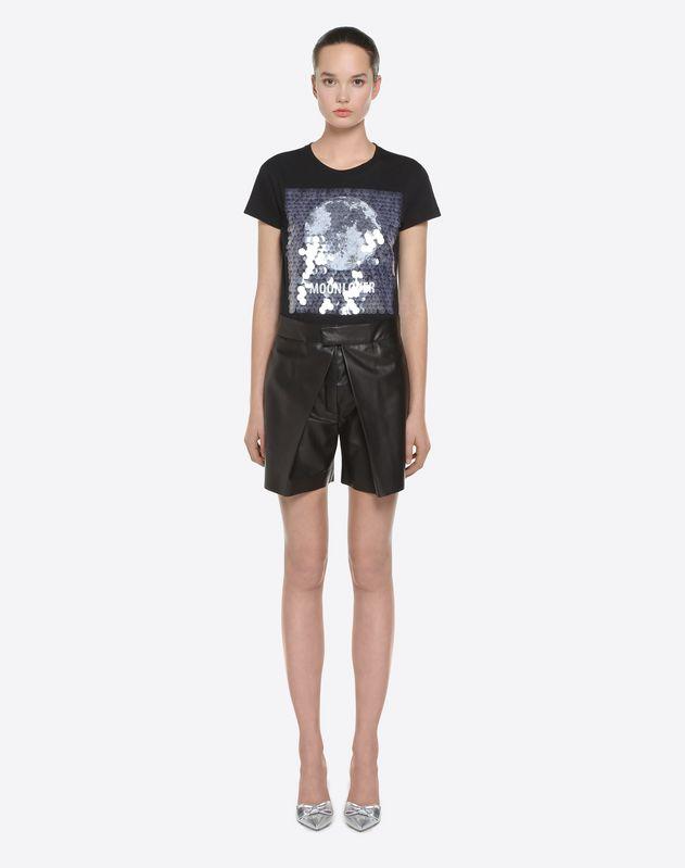 Shorts in pelle