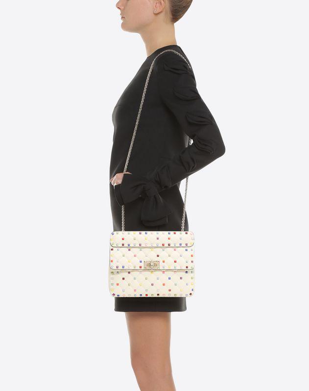 Rockstud Spike Medium Chain Bag