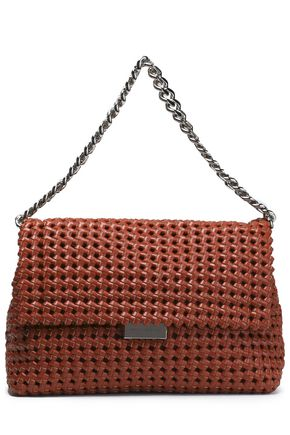 STELLA McCARTNEY Woven faux leather shoulder bag