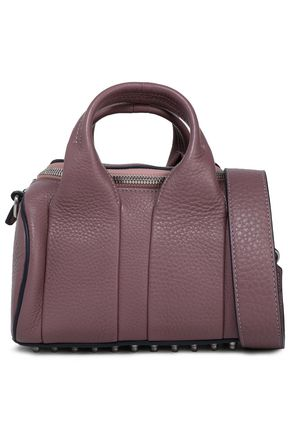 ALEXANDER WANG Rockie pebbled-leather shoulder bag