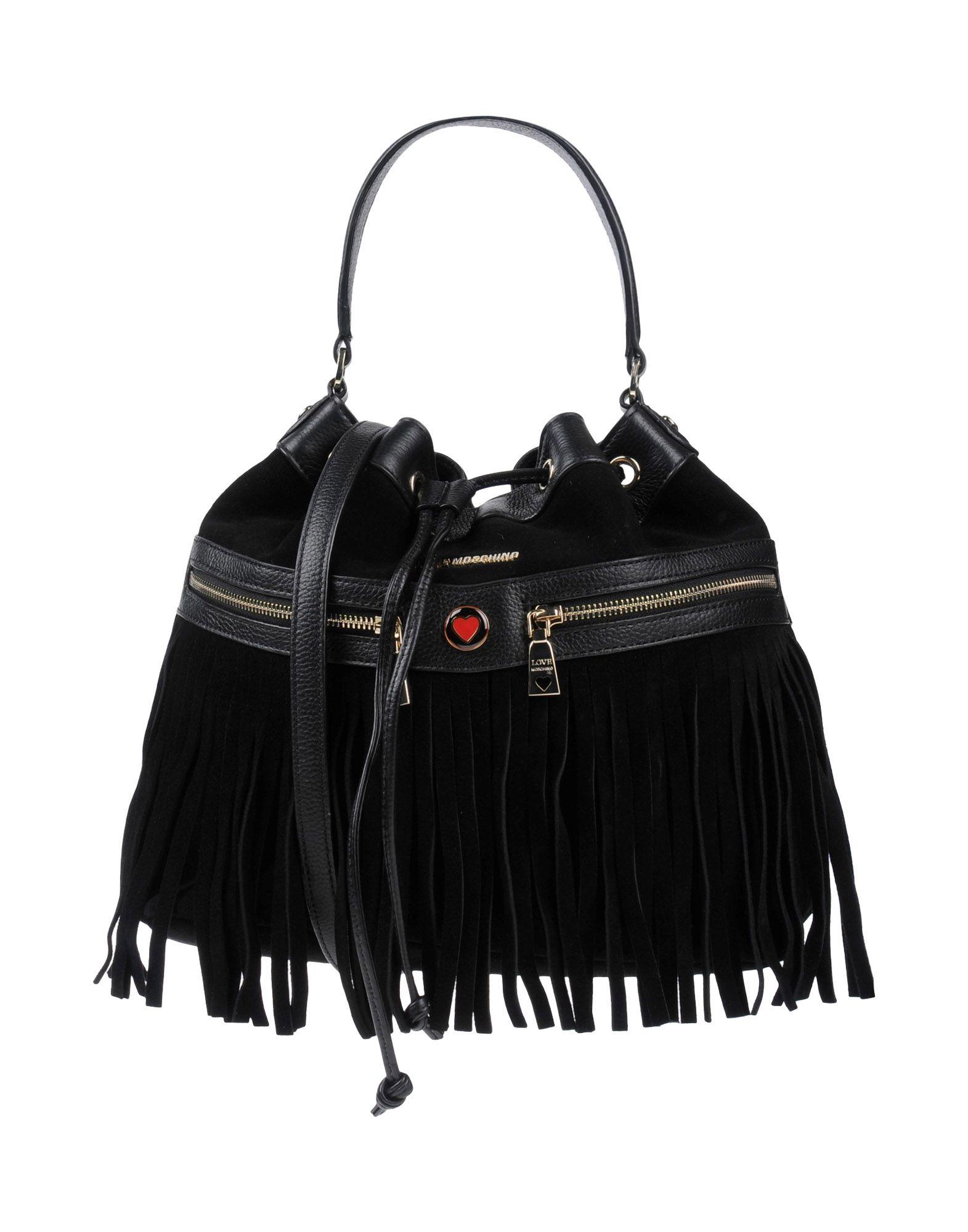 a937acf9ae4d Сумка на руку черного цвета Love Moschino за 24 500 руб. купить в ...