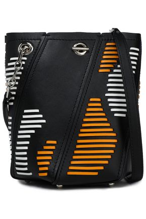 PROENZA SCHOULER Paneled leather bucket bag