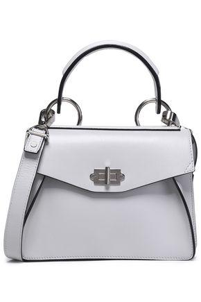 PROENZA SCHOULER Glossed-leather shoulder bag