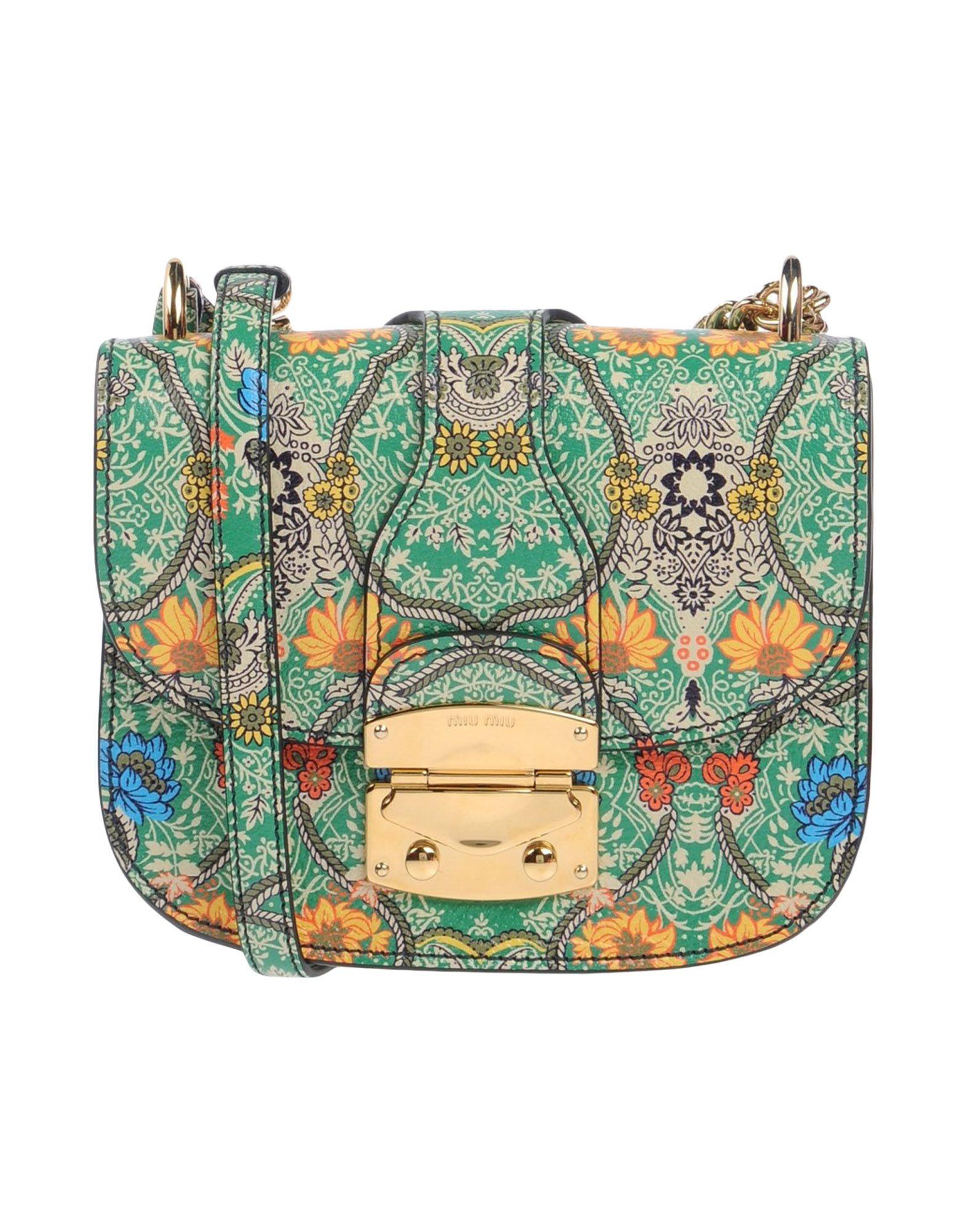 MIU MIU Сумка через плечо сумка miu miu p00126898 miumiu 2015