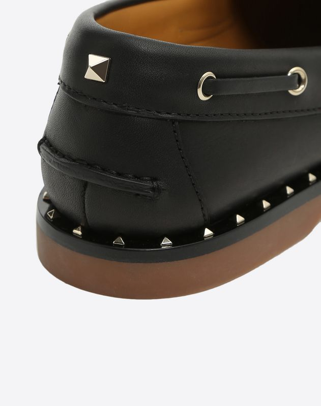 Sole Rockstud Boat shoe