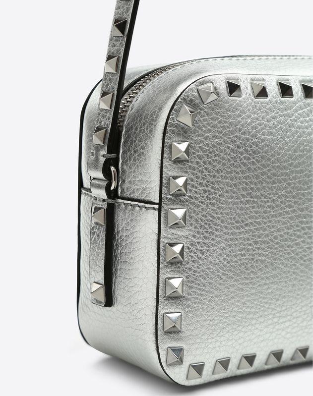 Metallic Rockstud Camera Bag