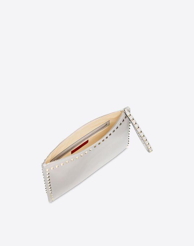 Metallic Wristlet Pouch