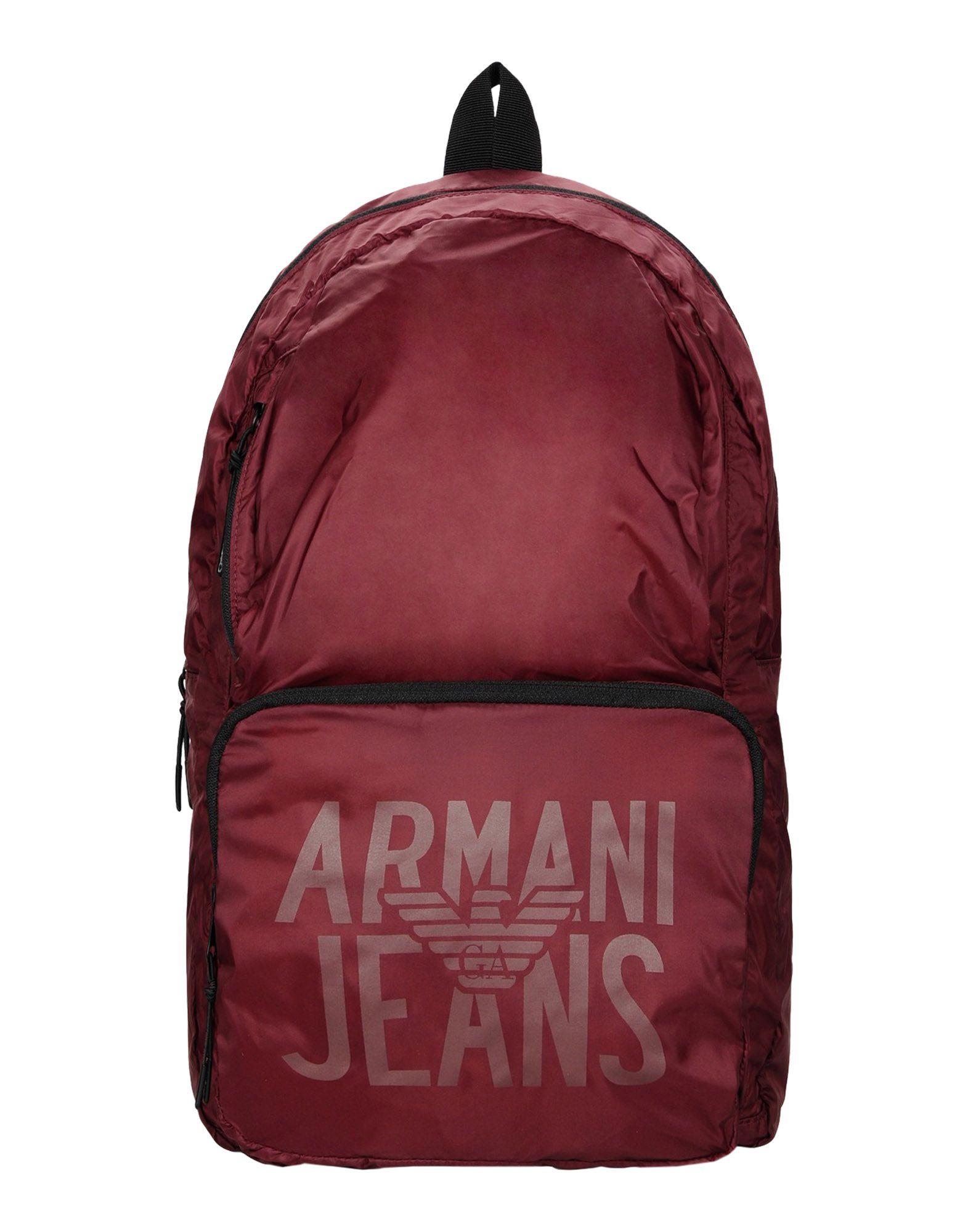 ARMANI JEANS Рюкзаки и сумки на пояс